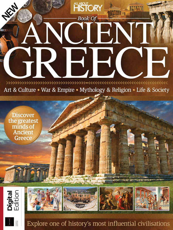 All About History Book of Ancient Greece – 4th Edition, 2020
