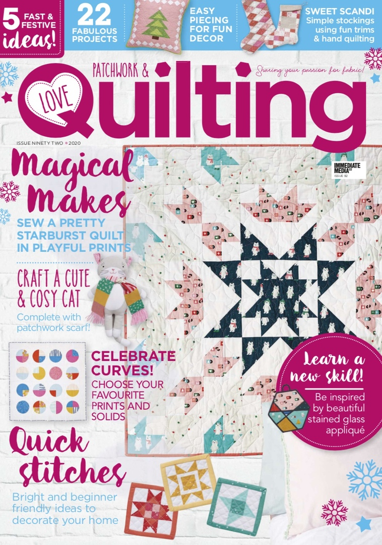 Love Patchwork & Quilting – December 2020