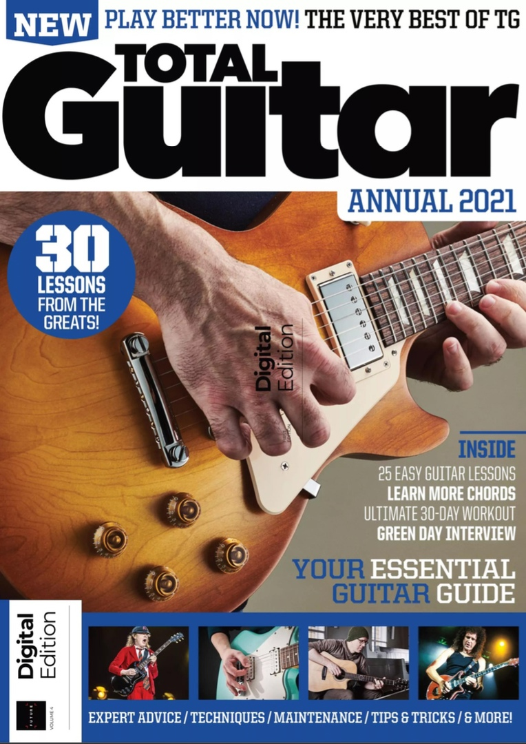Total Guitar – Annual 2021