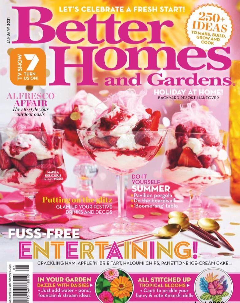 Better Homes and Gardens Australia – January 2021
