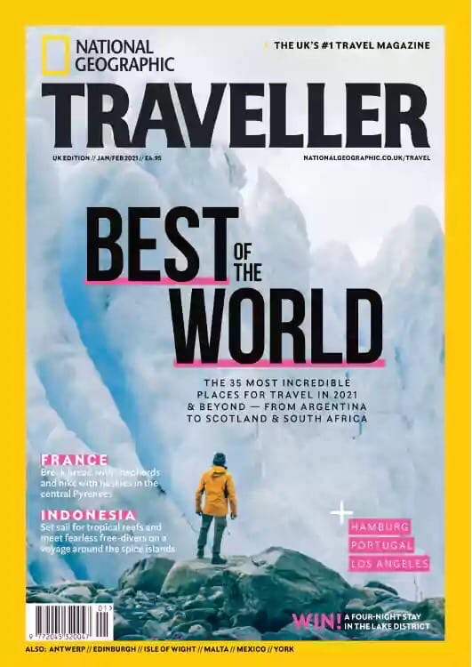 National Geographic Traveller – January-February 2021