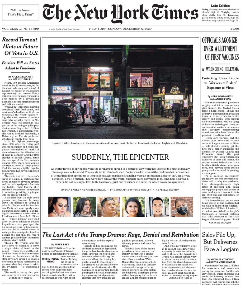 The New York Times – December 6, 2020