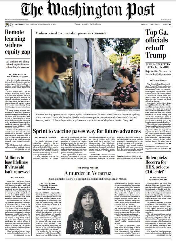The Washington Post – December 07, 2020
