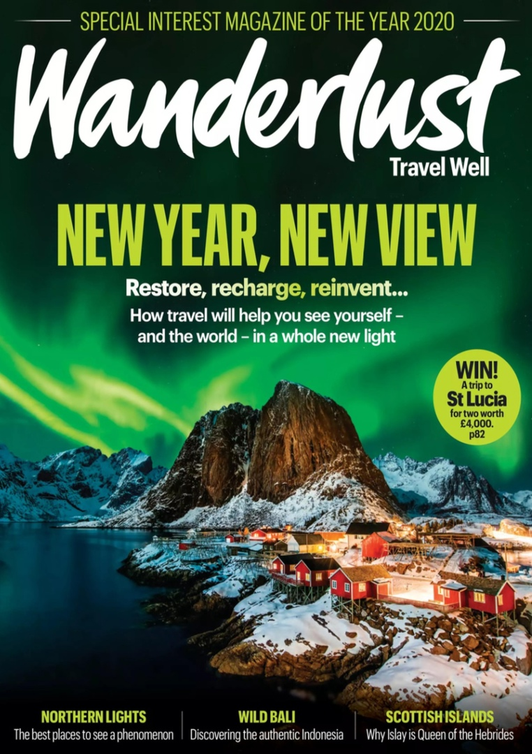Wanderlust Travel Magazine – January/February 2021